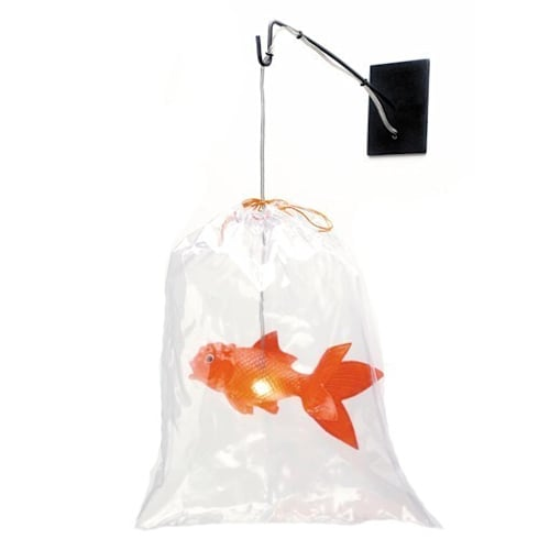 lampe poser poisson rouge par hors du commun homify. Black Bedroom Furniture Sets. Home Design Ideas