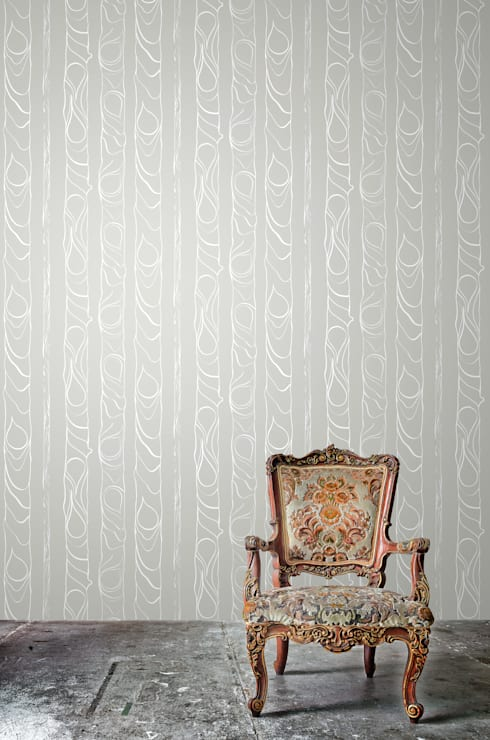 Zhivago wallpaper 'fog':  Walls & flooring by NAT MAKS