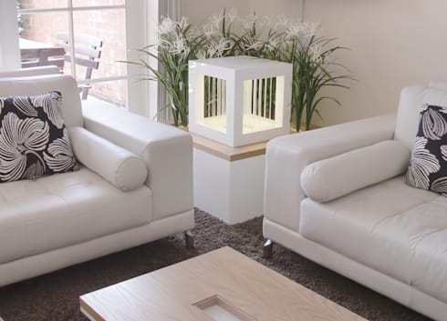 Rain3 [Raincube]: minimalistische Wohnzimmer von Oliver Kessler Design GmbH