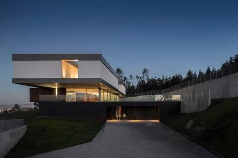 Casa BE: Casas modernas por spaceworkers®