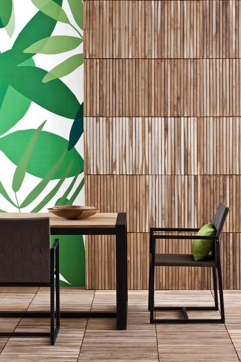 Poltroncina Otto: Giardino in stile in stile Moderno di Il giardino di legno