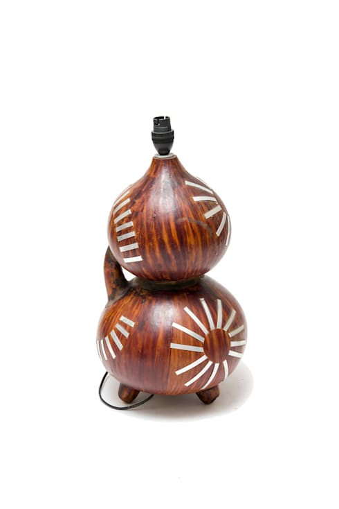 Calabash Lamp Stand:  Household by From Africa