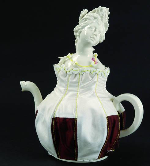 Four Seasons Teapot:   by Vessel Gallery
