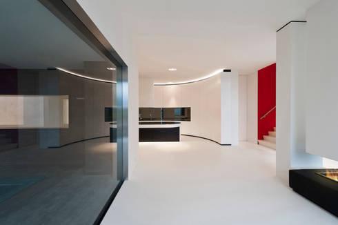 East West Villa:  Muren door 123DV Moderne Villa's