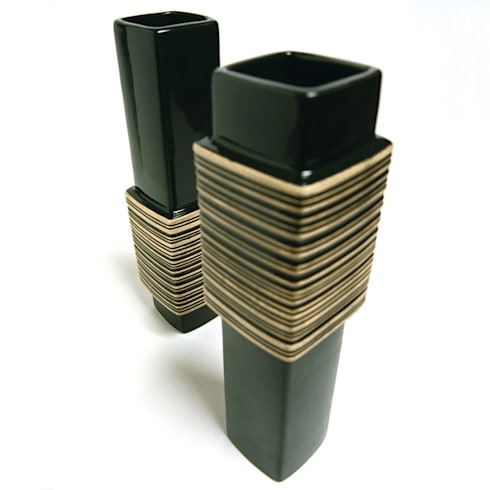Barcode Vase :  Artwork by Bromley & Bromley