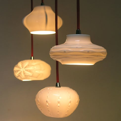 Small Pendant Cluster :  Artwork by Bromley & Bromley
