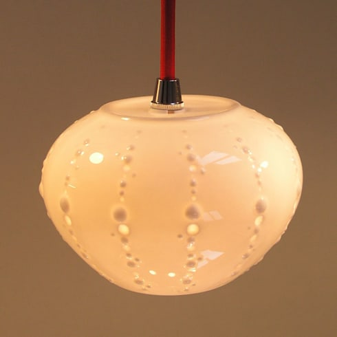 Urchin Small Pendant :  Artwork by Bromley & Bromley