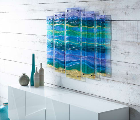Wall Panels:   by Jo Downs