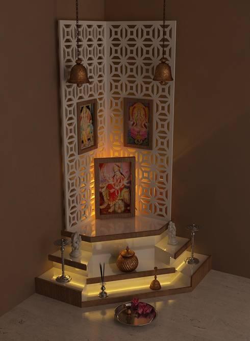de estilo  por Drashtikon designer consultant (kamal maniya)