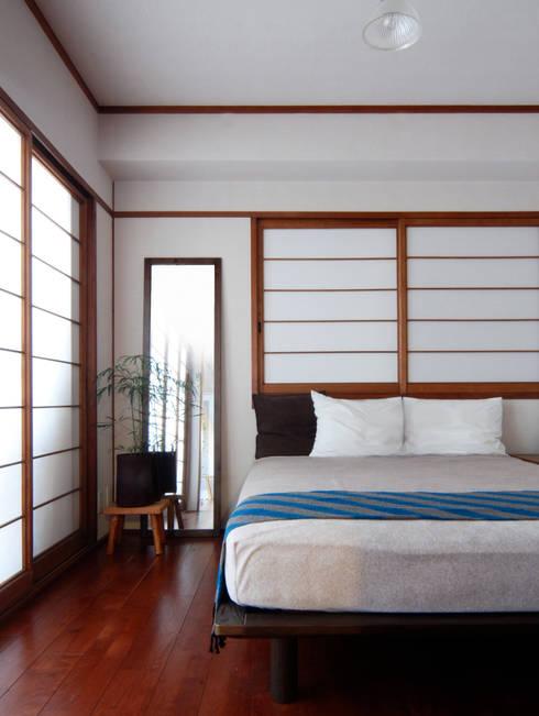 寝室: CRAFTONEが手掛けた寝室です。