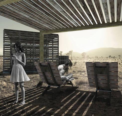 Fachada lateral:  de estilo  por 21 Arquitectura