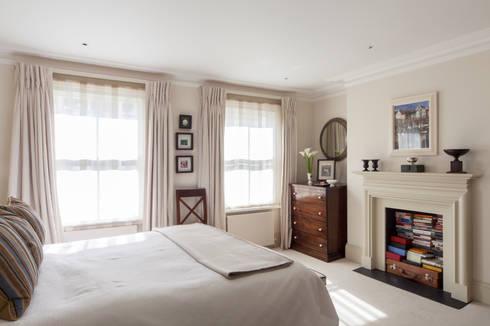 Justin Van Breda - Master Bedroom:  Bedroom by Justin Van Breda