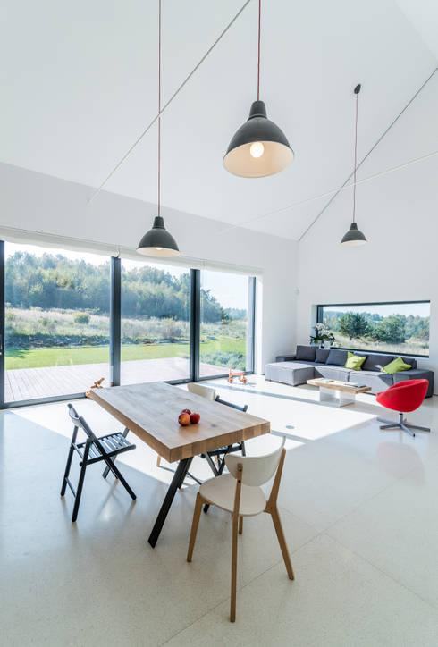 Dining room by Kropka Studio