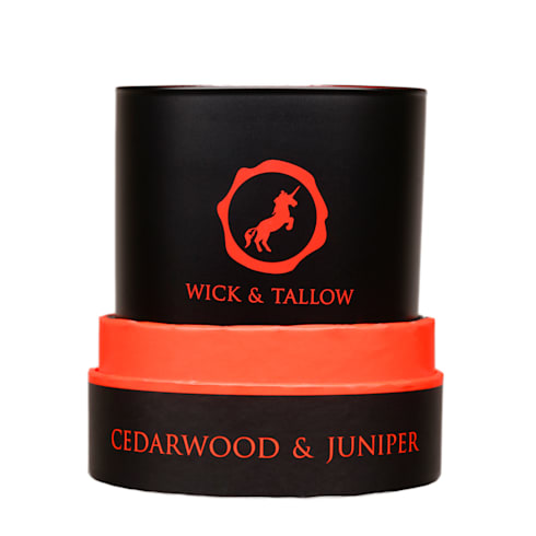 Wick & Tallow Cedarwood & Juniper Candle:  Household by Wick & Tallow