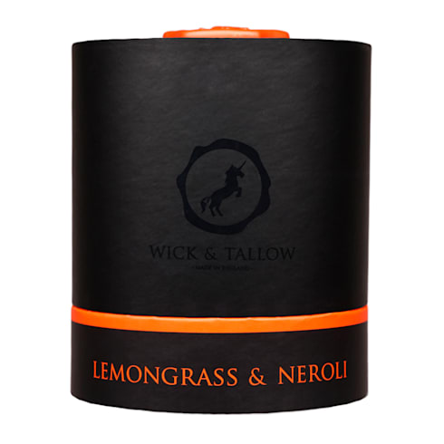 Wick & Tallow Lemongrass & Neroli Candle:  Household by Wick & Tallow