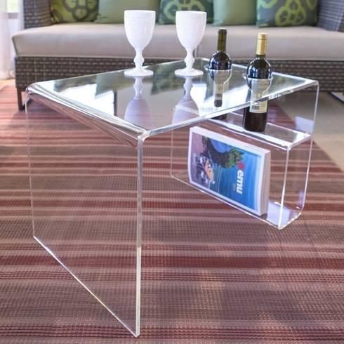 Tavolino da salotto casper di designtrasparente homify - Tavolino plexiglass ...