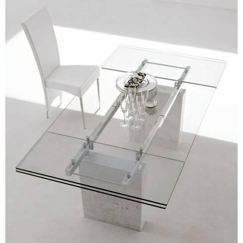 Mesa de comedor Zeta extensible: Hogar de estilo  de Ociohogar