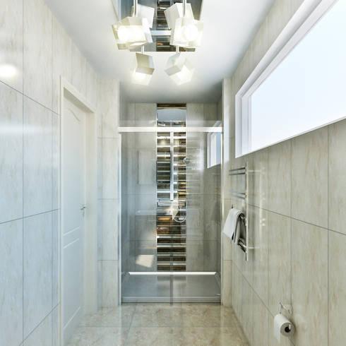 small bathroom:  Bathroom by Hampstead Design Hub