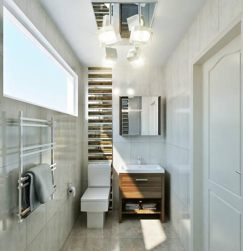 Baños de estilo  por Hampstead Design Hub