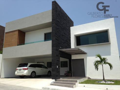 CAROLCO 1: Casas de estilo moderno por GF ARQUITECTOS