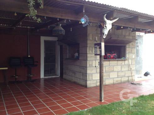 Cienega de Flores 1: Casas de estilo rural por GF ARQUITECTOS