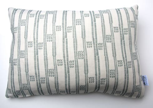 Plot to Plate VVV oblong cushion by Kate Farley: modern Living room by Kate Farley