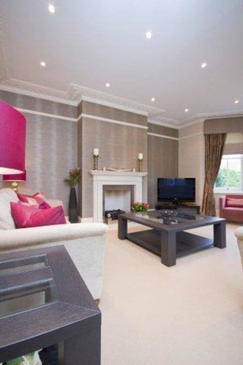 Lounge Project In Epping: classic Living room by lorraine