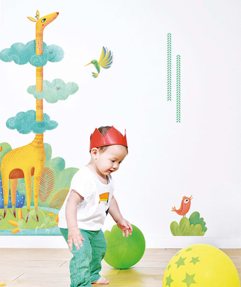 ​Tropical mix: Chambre d'enfants de style  par Lilipinso