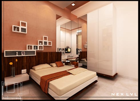 MR. AKHILESH CHAUBE'S RESIDENCE:   by NEX LVL DESIGNS PVT. LTD.