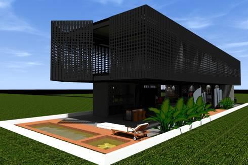 Casa de Lata:   por Bruno Rubiano