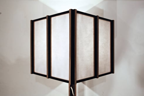 Japandeco Floor Lamp: modern Living room by stleger.luke