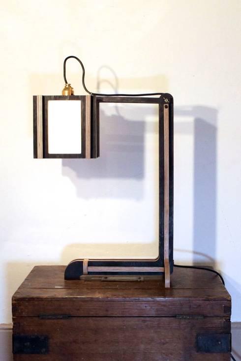 Japandeco Desk Lamp:  Study/office by stleger.luke