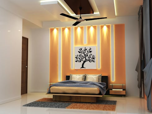 4 BHK Appartment in Gurgaon:   by Universal Pride Interiors Pvt. Ltd.