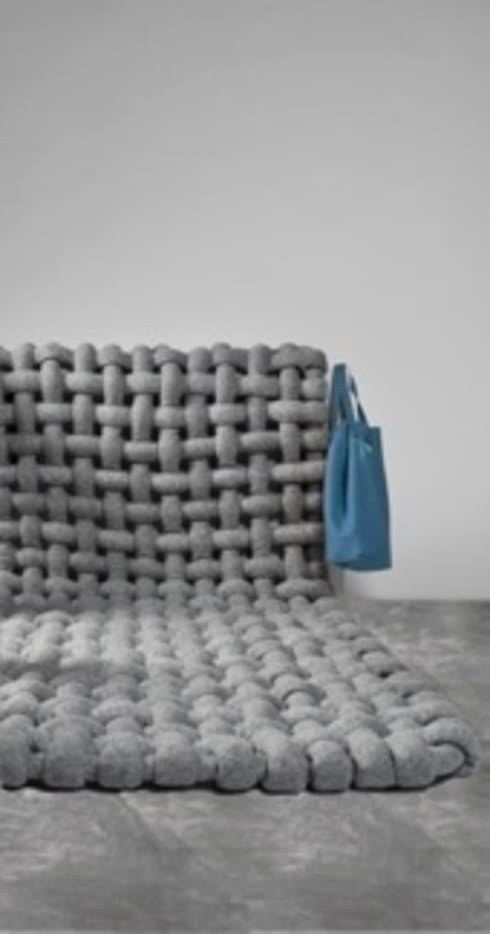 Comfort Zone: industriële Woonkamer door Pauline 't Hoen