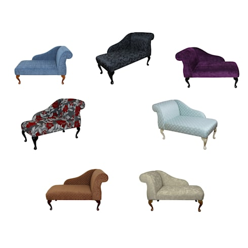 Mini Chaise Longues: classic Living room by Beaumont Home Furnishings