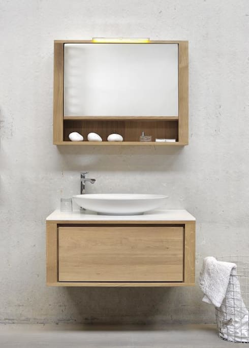 Why every bathroom has to be white!?:  Badezimmer von Discoveries Trends