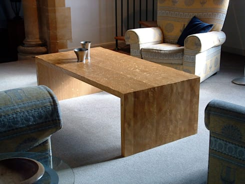 <q class='-first'>Low water</q>  Table: eclectic Living room by A. P. Lapthorn