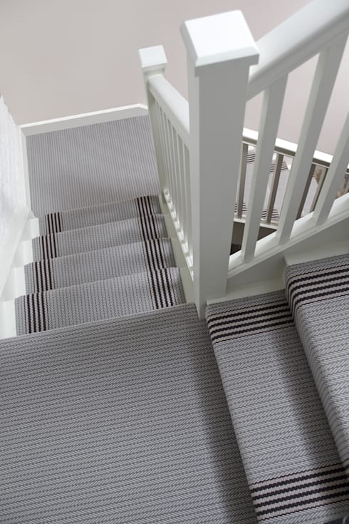 Flaxman & Fulham Quartz:  Corridor & hallway by Roger Oates Design