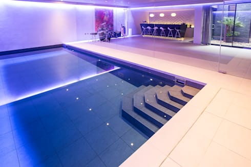 Gold Award Winning Subterranean Pool : minimalistic Pool by London Swimming Pool Company