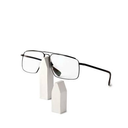 Brillenhalter Holz, Weiß, Häuschen Set à 2 Stück Alkita: Klassische  Ankleidezimmer Von Alkita