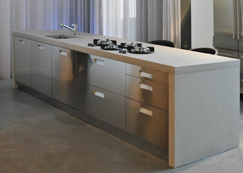 k chenarbeitsplatten von oggi beton homify. Black Bedroom Furniture Sets. Home Design Ideas