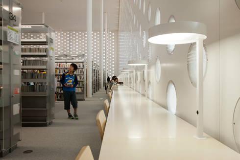 金沢海みらい図書館: 藤江和子アトリエが手掛けたです。