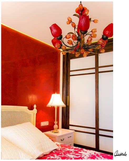 Paredes y pisos de estilo  por Básico Veneciano,Arte Decorativo