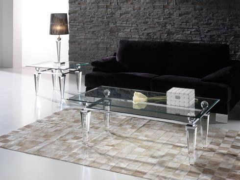 Furniture de tomas saez disseny s l homify for Table basse scandinave transparente