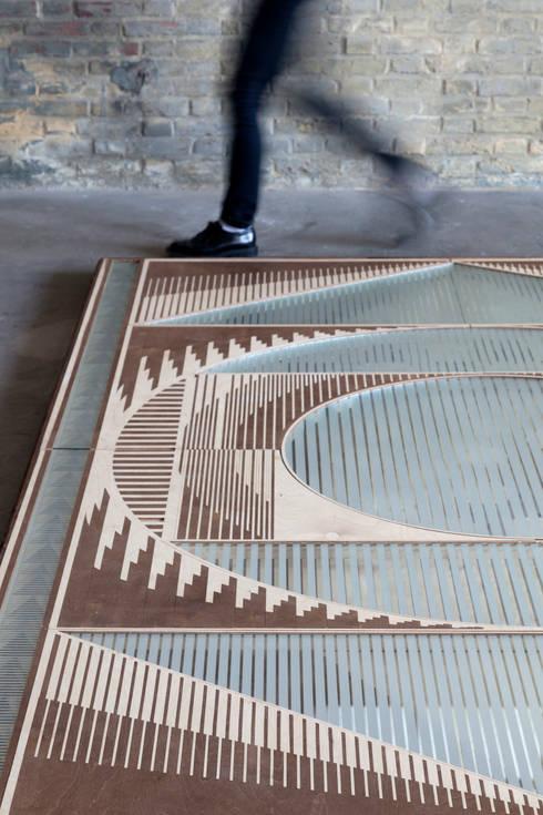 Passage:  Muren & vloeren door VANTOT