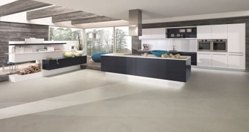ALNOFINE: modern Kitchen by ALNO (UK) Ltd