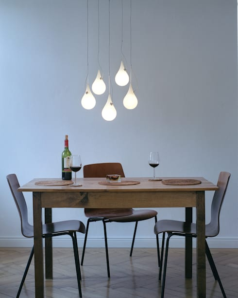 DROP_2xs Pendelleuchte :  Esszimmer von next home collection e.K.