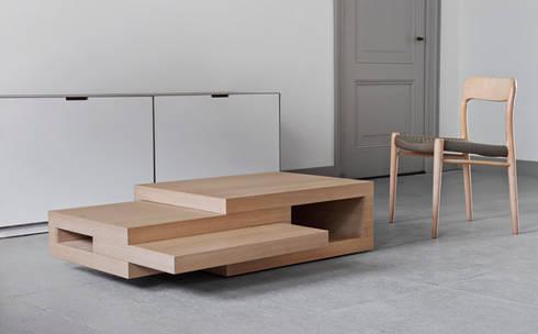 Rek Salontafel Beuken Door Reinier De Jong Design Homify