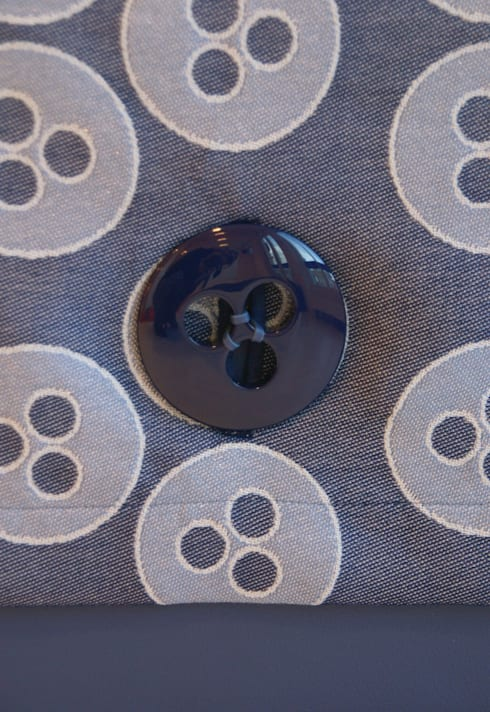 bloei! bank:  Woonkamer door designstudio lotte van laatum