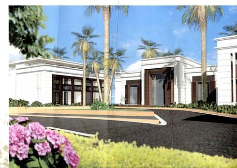 PROYECTO DE INVERSIÓN. HOTEL DE GRAN LUJO:  de estilo  de Luxury Homes Andalusia